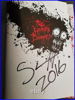 Nikki Sixx The Heroin Diaries Autographed Book First Edition 2007 Signed