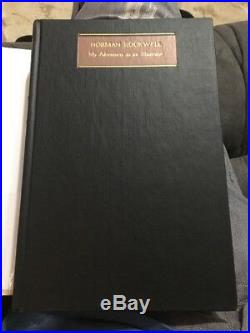 Norman Rockwell My Adventures As An Illustrator Signed First Edition