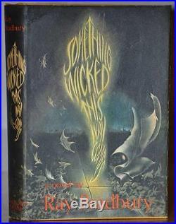 Nr Fine 1st Editionsignedsomething Wicked This Way Comesray Bradbury