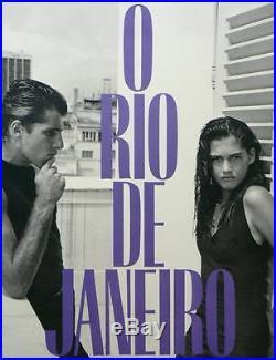 O Rio de Janeiro by Bruce Weber, Unique Signed First Edition