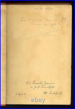 OTTO KOISCHWITZ signed book American Nazi Propaganda Broadcaster WW2 Axis Sally