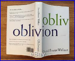 Oblivion, David Foster Wallace. SIGNED First Edition, 1st Printing