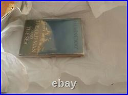 Old Man and the Sea ERNEST HEMINGWAY Signed Limited First Edition STORAGE FIND