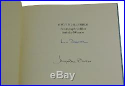 One Special Summer JACQUELINE BOUVIER KENNEDY Signed Limited First Edition