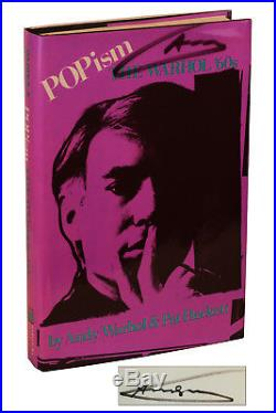 POPism SIGNED by ANDY WARHOL 2X First Edition 2nd Print 1980 Pop Art
