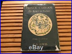 PRINCE CASPIAN, C S Lewis (1951), True First Edition SIGNED BY C S LEWIS