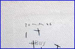 Pablo Picasso Hand Signed Lithograph Dessins First Edition Dora Maar 1952