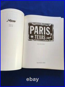 Paris, Texas First Edition Signed By Director Wim Wenders
