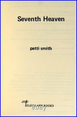 Patti Smith Signed 1st Edition 1972 Seventh Heaven Punk Poetry Paperback