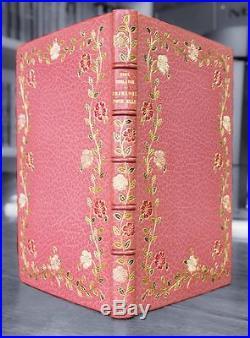 Paul VERLAINE Chansons pour elle FIRST EDITION Fine Binding 1891