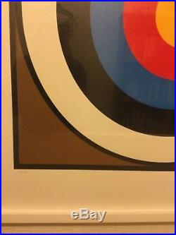 Peter Blake signed print limited edition 73 of 75 The first Print Target
