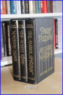 Philip Pullman (2008)'His Dark Materials', signed Folio Society first edition