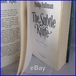 Philip Pullman,'His Dark Materials' SIGNED first edition. VERY RARE