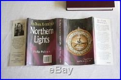 Philip Pullman'His Dark Materials' trilogy, all signed first editions 1st/1st