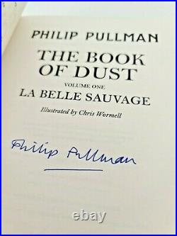 Philip Pullman The Book Of Dust Volume 1 And 2 Signed 1st Editions HARDBACK