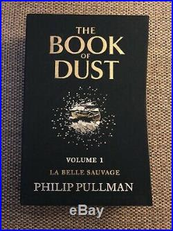 Philip Pullman The Book Of Dust Volume 1 And 2 Signed 1st Limited Editions