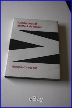 Photography Photobooks Thomas Ruff Architecture First edition Signed