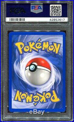 Pokemon Card Espeon PSA 10 Auto Ex Sandstorm Reverse Holo Signed Mitsuhiro Arita