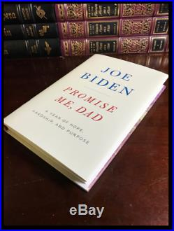 Promise Me, Dad SIGNED by VP JOE BIDEN New Hardback 1st Edition First Printing