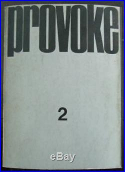 Provoke 1-5 The Complete 1st Edition Collection, Signed by Daido Moriyama