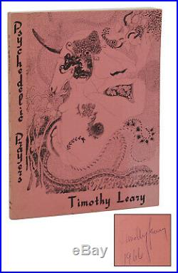 Psychedelic Prayers TIMOTHY LEARY Signed First Edition 1st Printing 1966 LSD