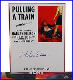 Pulling a Train by HARLAN ELLISON SIGNED First Edition with Pocket Comb 2012 1st