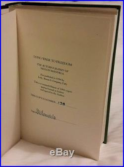 RARE! SIGNED, FIRST EDITION, Nelson Mandella, A Long Walk to Freedom