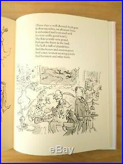 RARE SIGNED FIRST EDITION of RHYME STEW. ROALD DAHL & QUENTIN BLAKE. 1ST / 4TH