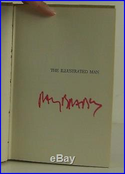 RAY BRADBURY The Illustrated Man SIGNED FIRST EDITION