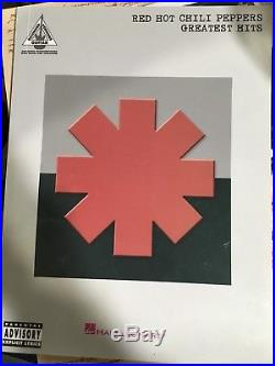 RED HOT CHILI PEPPERS GREATEST HITS Signed First Edition Anthony Kiedis Coa