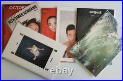 REN HANG APRIL MAY JUNE JULY AUGUST OCTOBER NOVEMBER SIGNED First edition New