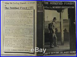 ROBERT SHERWOOD (HUMPHREY BOGART) The Petrified Forest SIGNED FIRST EDITION
