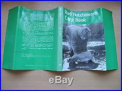 ROD HUTCHINSON'S CARP BOOK HARDBACK, SIGNED FIRST EDITION