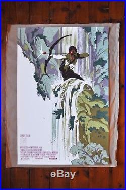Rambo First Blood Part II Tomer Hanuka Mondo Printed edition of 225