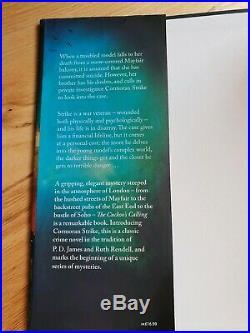 Rare 1/1 1st First edition JK Rowling Cuckoo's Calling Robert Galbraith not sign