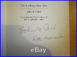 Rare 1965 SIGNED First Edition The Looking Glass War John Le Carre