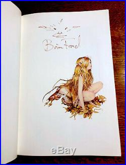 Rare FAERIES 1979 US 1st Edition Brian Froud Alan Lee SIGNED w ORIGINAL DRAWING