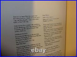 Rare LOUISE BOURGEOIS book DRAWINGS & OBSERVATIONS, Signed, 1st edition VGC