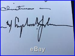 Rare Lyndon Johnson Signed First Edition Book
