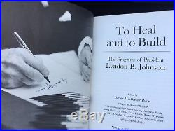 Rare Lyndon Johnson Signed First Edition Book