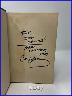 Ray Bradbury The Illustrated Man Signed First Edition Beautiful copy