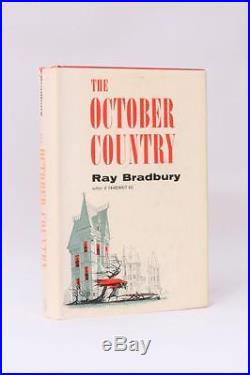 Ray Bradbury The October Country Ballantine, 1955, Signed First Edition