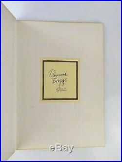 Raymond Briggs The Snowman First Edition Signed & Dated BP