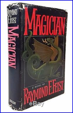 Raymond E. Feist Magician SIGNED FIRST EDITION in DJ Doubleday, 1982