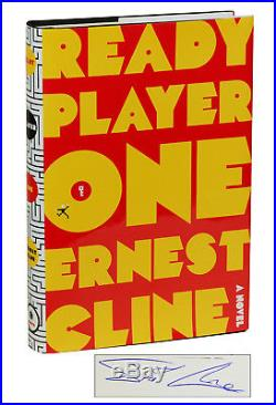 Ready Player One SIGNED First Edition 1st Printing Ernest Cline 2011