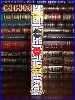 Ready Player One SIGNED by ERNEST CLINE New Hardback 1st Edition First Print
