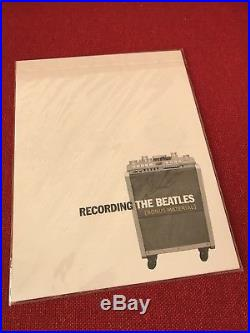 Recording The Beatles RARE 2006 First Edition Signed By Author 1 Of 3000