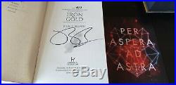 Red Rising Pierce Brown FULL Series SIGNED First Editions FINE Condition