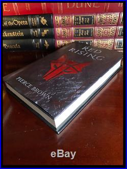 Red Rising SIGNED by PIERCE BROWN Brand New Hardback Howler Edition 1st Print