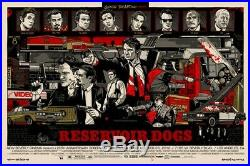 Reservoir Dogs, Tyler Stout 1st Edition Mondo SOLD OUT